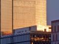 Architekturfotografie-Medienhafen-Sonnenuntergang-Glasfassade_HD