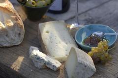 Käse fotografieren: Foto einer Käseplatte für das Restaurant, Bistro