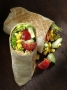 Foodfotografie Imbiss-Restaurant: Veggie Wrap