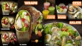 Speisen fotografieren lassen: Menübord gestaltet für Bistrokette mit unseren Foodfotos