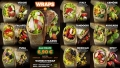 Menüübersicht Wrap Fotografie: Fotos von Wraps mit unterschiedlichen Füllungen für Imbisskette