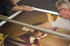 Für ein Fotokunstwerk hinter Acrylglas im DIASEC Verfahren ist staubfreie Sauberkeit die wichtigste Voraussetzung