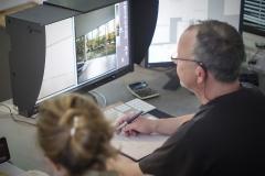 Im Fotolabor Grieger stehen die Mitarbeiter den Fotokünstlern bei der Aufbereitung der Bilddaten und für individuelle Retuschen zur Verfügung