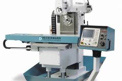 Industriefotografie Fräs- und Zerspanungsmaschine Reckermann Solingen vor weißem Hintergrund (Freisteller)