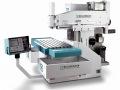 Industriefotografie Maschinenbau: Fräsmaschine Reckermann Solingen vor weißem Hintergrund (Freisteller)