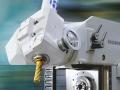 Digitale Bildbearbeitung und Industriefotografie: Fotos von Fräsmaschinen vor Ort die mittels Bildbearbeitung in einen neuen Zusammnhang gestellt wurden