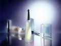 Kosmetikfotografie Pflegeserie Parfum Flakon Seife Duschgel Bodylotion