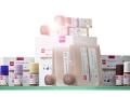 Produktfotografie Reagenzien: Wako Kit HA aufgereiht mit starkem Sonnengegenlicht