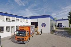 Wunsch Öle Ratingen - Firmenportrait Ansicht Außenlager Übersichtsaufnahme mit LKW