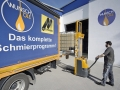 Wunsch Öle Ratingen - Firmenportrait Ansicht Außenlager bei Beladung eines LKW