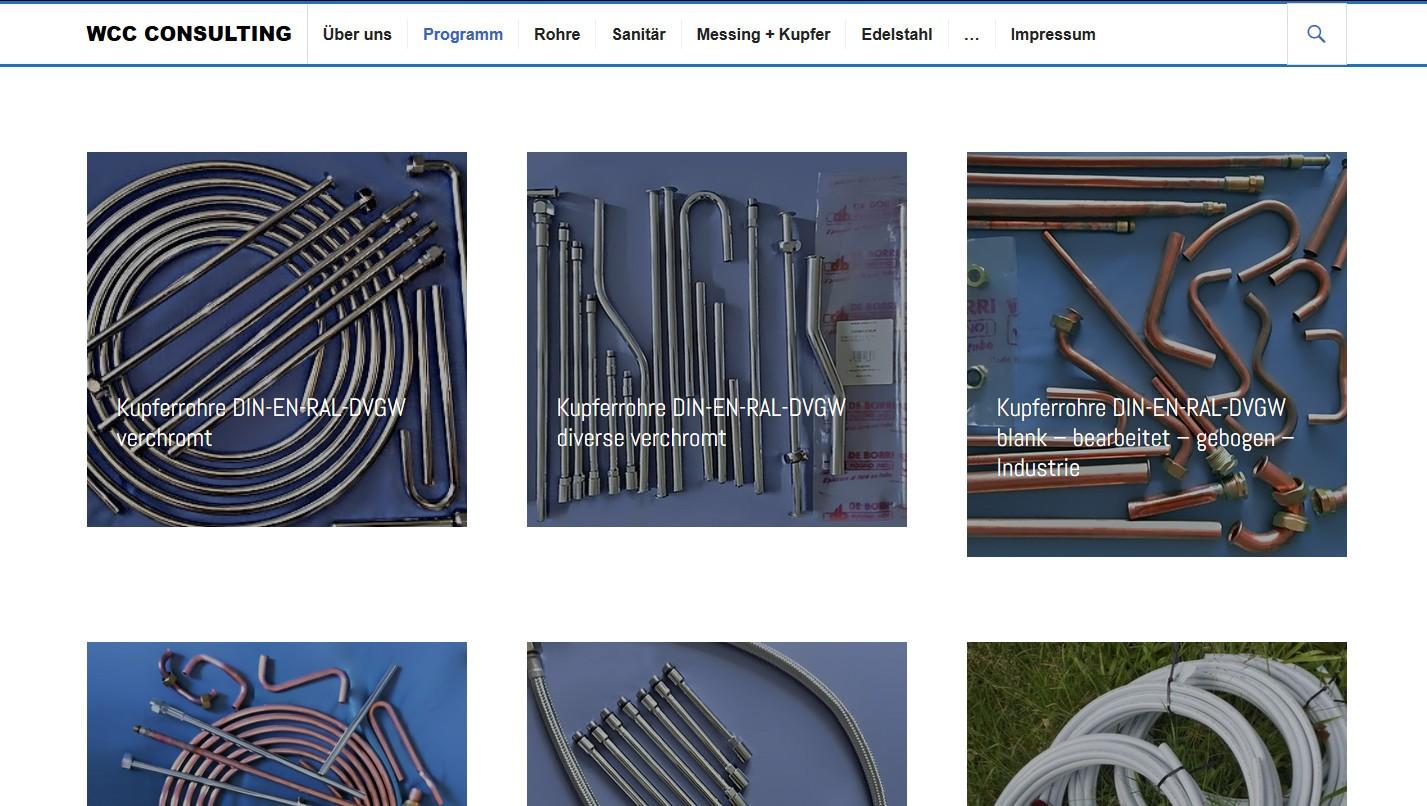 Webseiten Relaunch & Webdesign für Handelsunternehmen