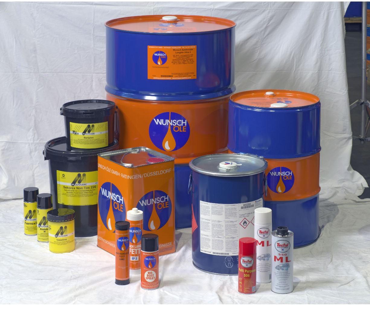 Ausgangsbild für die Bildretusche/Freistellung: Wunsch Öle Produkten vor Ort fotografiert
